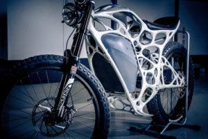 Light Rider es una motocicleta impresa a partir de alumnio en polvo - Foto: ELECTREK