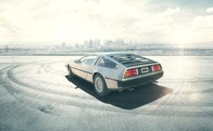 Motor de nuevo DeLorean tendrá el doble de potencia que el original - Foto: Newdelorean.com