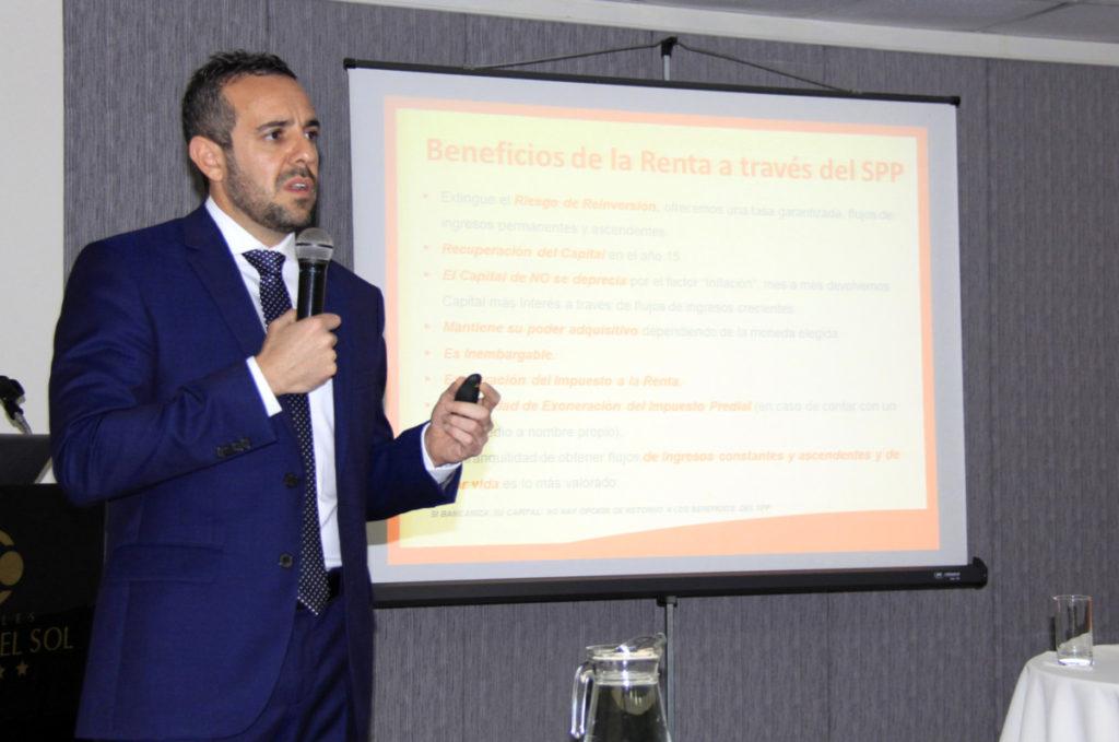 Raúl Fermor Baracco, gerente comercial La Positiva Vida. Foto: Walac / Esteban Vidal.