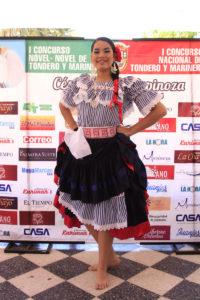 Claudia Viera Yarlequé, Señorita Marinera. Foto: Walac / Esteban Vidal