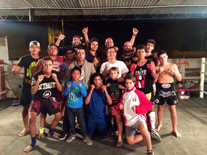mancora campeonato regional de muay thai