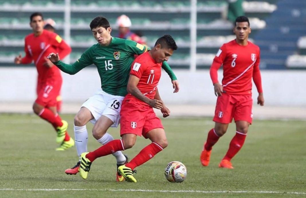 Perú ganó tres puntos tabla clasificatorias