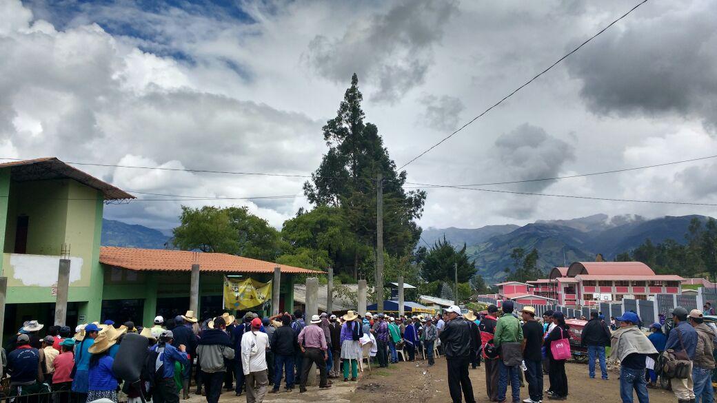 Elección comunal en CP Cajas Shapaya-Huancabamba