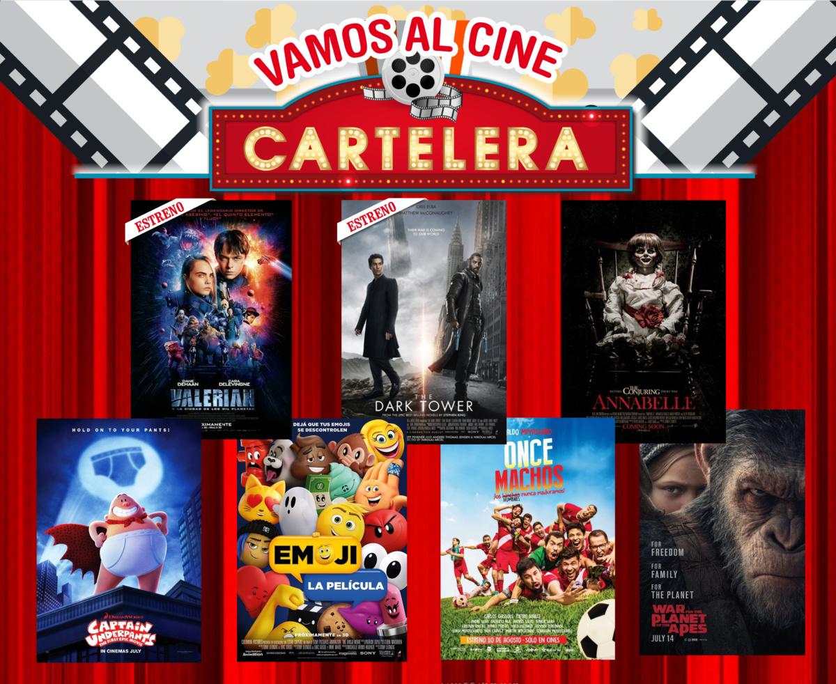 cartelera de la semana dos nuevos estrenos valerian y On espectaculos de la semana