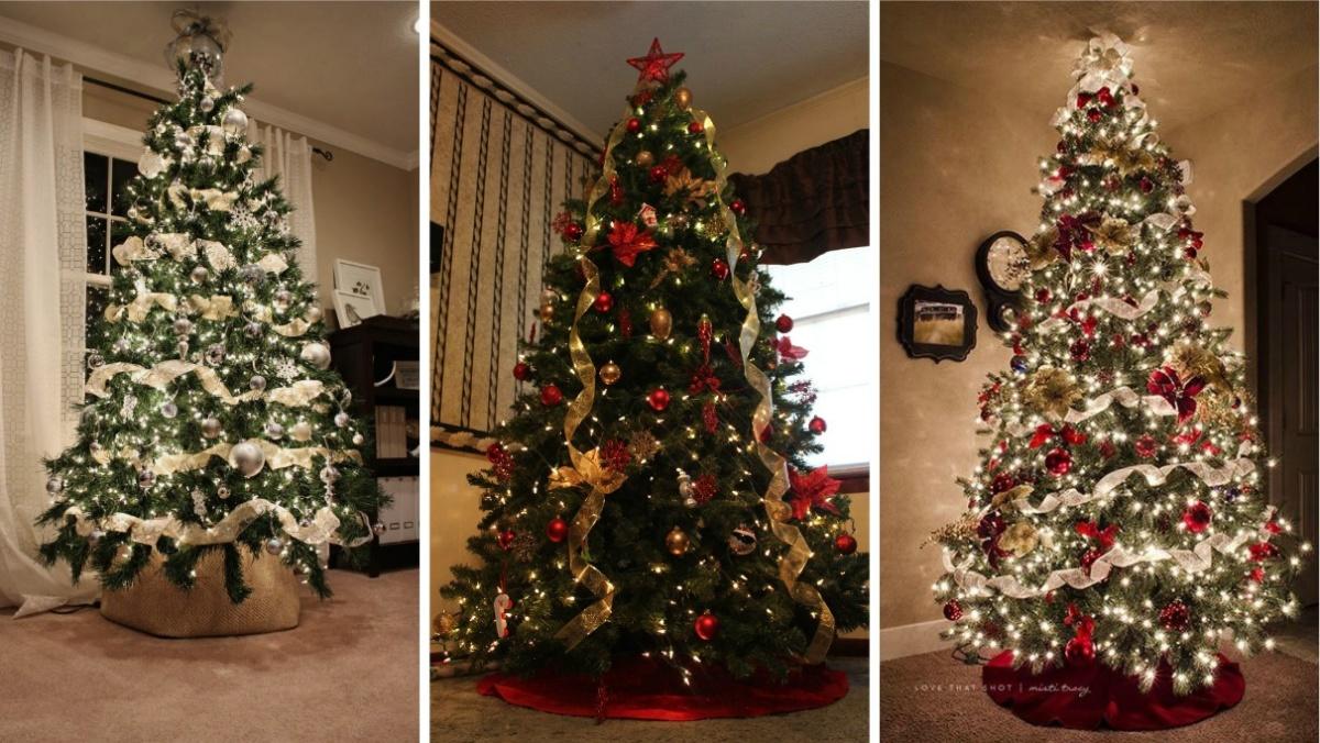 Conoce las nuevas ideas y tendencias para decorar tu rbol - Imagenes de arboles navidad decorados ...