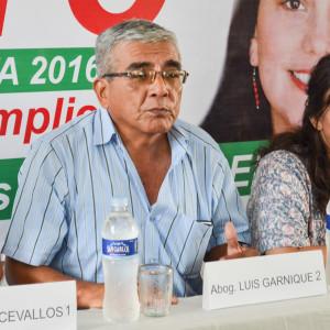 Abog. Luis Garnique Ortiz Frente Amplio