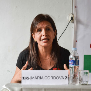Ing. María Córdova. Foto: Walac / Isabel Palomino