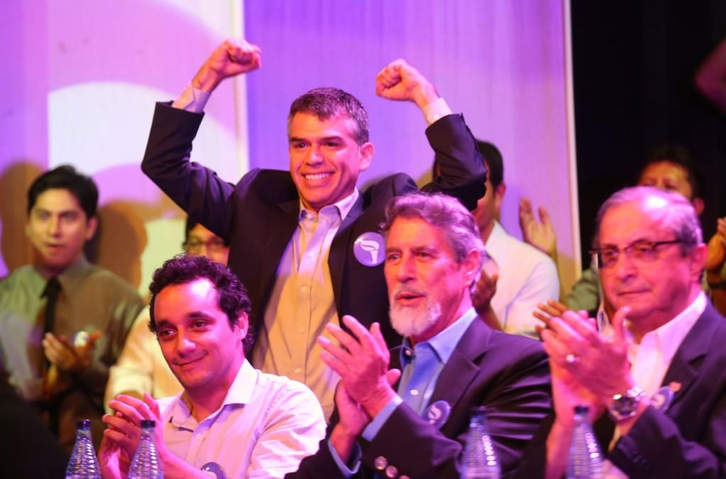 Candidato viene creciendo en aceptación en las encuestas Foto: Andina