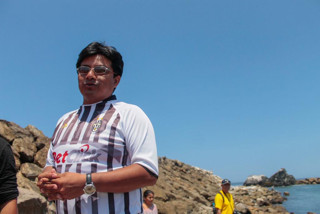 José Álvarez Pazos, Alcalde del centro poblado La Islilla. Foto Walac/Yanina Palomino