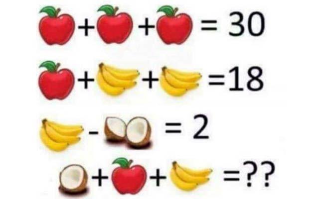 El problema matemático de los niños que arrasa en la red.