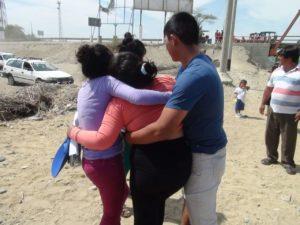 Familiares protagonizaron escenas de dolor Foto: Walac Noticias.