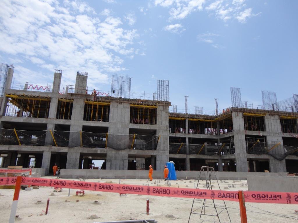 Este el hospital de Essalud de Alta Complejidad que se construye en Trujillo, los mismo se podría replicar en Piura. FOTO: BLOG ELVALLADOLID.