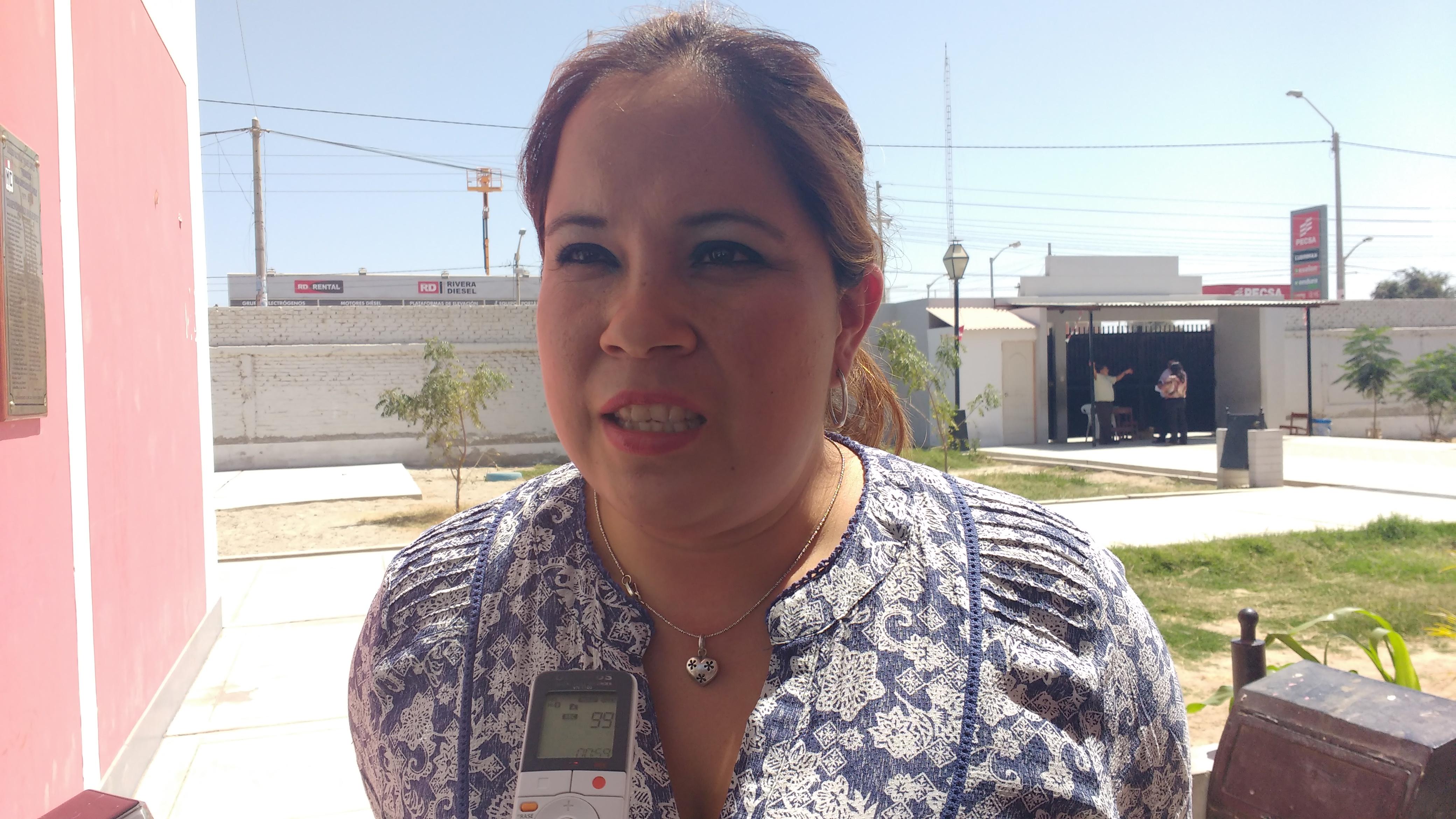Susan Lizana, psicóloga de la DREP, explica que el Ministerio de Educación debe enviar presupuesto para atender este problema.