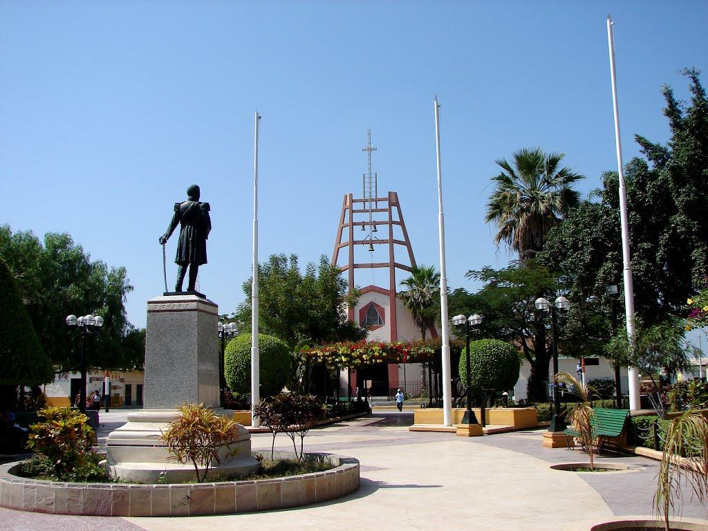 chulucanas - parque