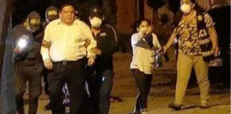 Áncash: Detienen a alcalde del Santa por libar licor en pleno toque de queda