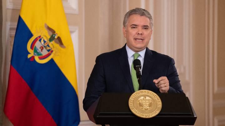 IVAN DUQUE, COLOMBIA, CUARENTENA
