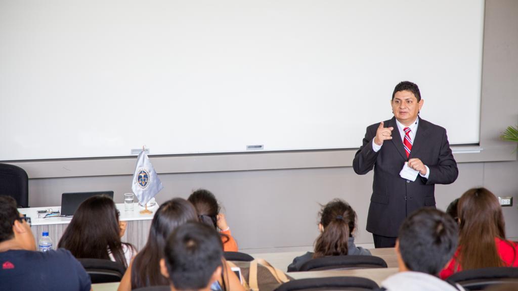 Javier Bereche es actual Presidente de la Cámara de Comercio y Producción y docente de la Universidad de Piura.