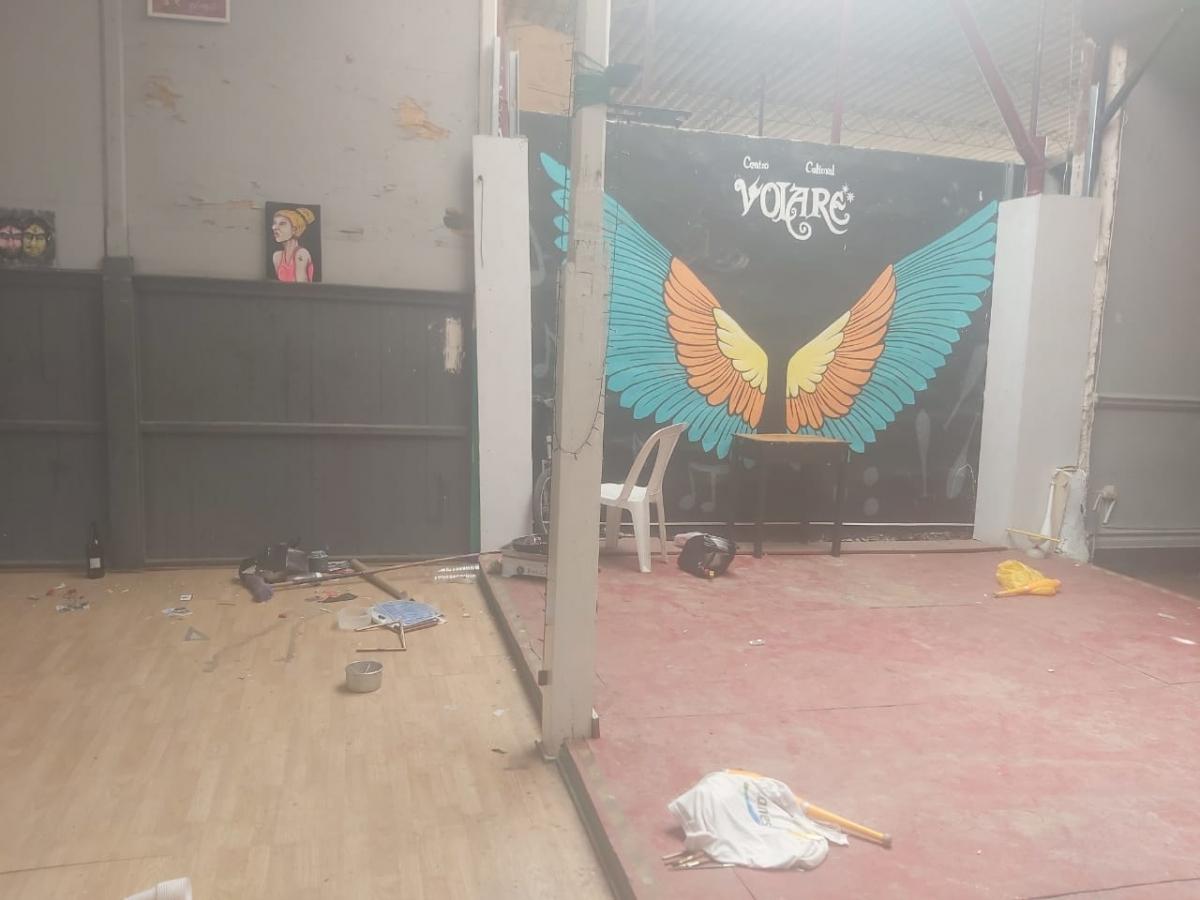 robo en Centro cultural