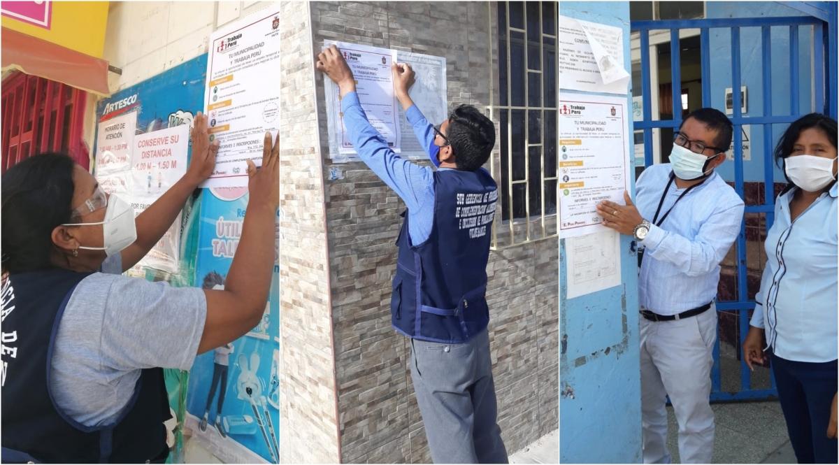 sectores Trabaja Perú