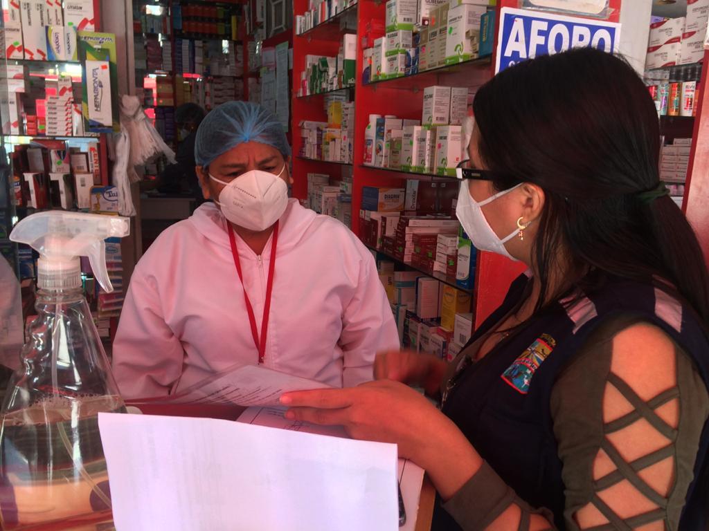 operativo para verificar medicinas