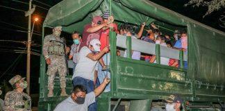 Más de 100 detenidos