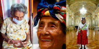 Ancianos centenarios