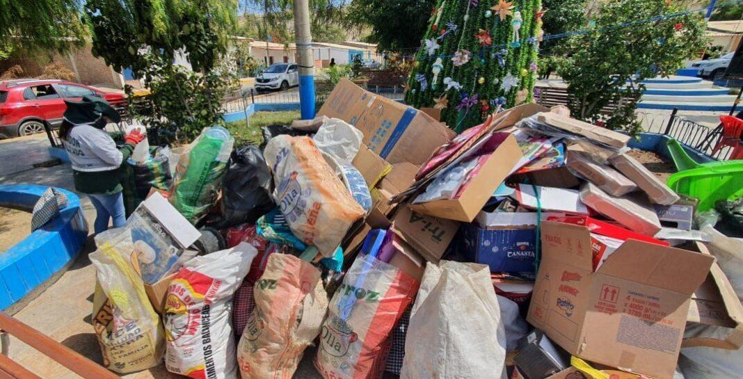 Recolectan una tonelada de residuos reciclables en San ...