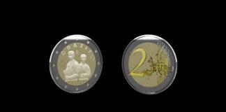 Italia le dedica moneda de 2 euros al personal médico del país