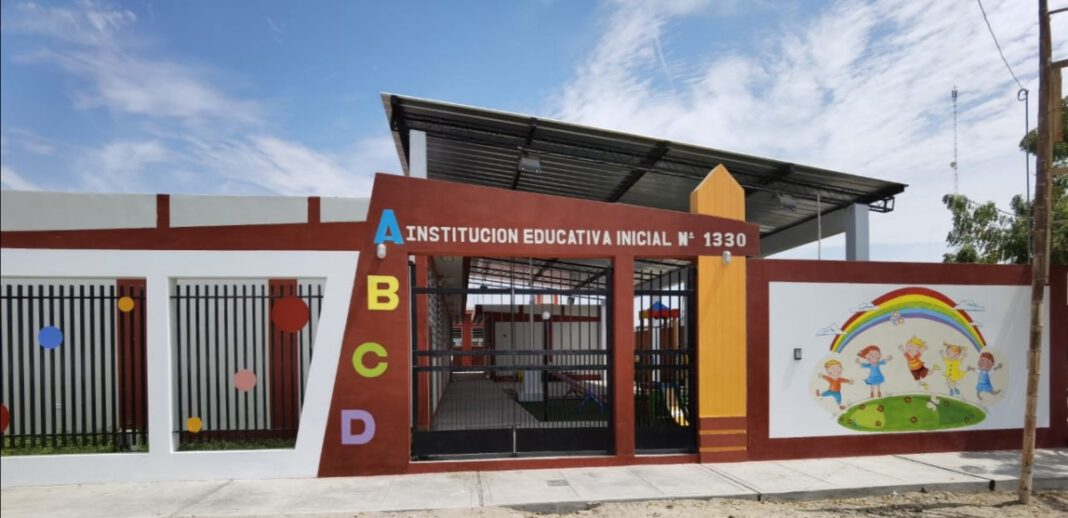 La Legua: GORE culminó construcción de colegio N° 1330
