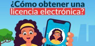 Licencia de conducir electrónica