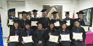 Alumnos de la Escuela Superior de Arte Pública Ignacio Merino de Piura (ESAPIM)