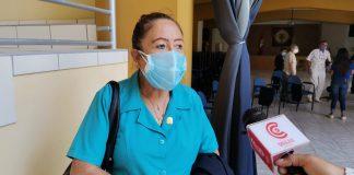 Decana del Colegio de enfermeras de Piura, Vilma Sullca
