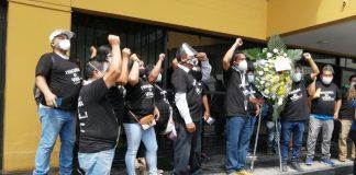 Piuranos protestan en contra del Ejecutivo