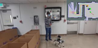 Investigadores estadounidenses desarrollan un 'perro' guía robot.