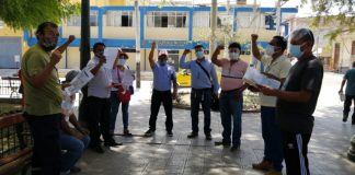 Dirigentes exigen proyecto de agua y alcantarillado para distritos de Piura, Castilla, Veintiséis de octubre, Medio Piura.