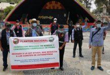 Ronderos de Piura protestan contra proyecto de Ley que aprueba creación de Comités de Autodefensa