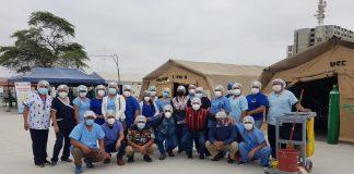 El personal de limpieza y lavandería del Hospital Santa Rosa son los héroes anónimos de la pandemia