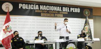 Exponen avances de proceso para fortalecer y modernizar la PNP en Piura