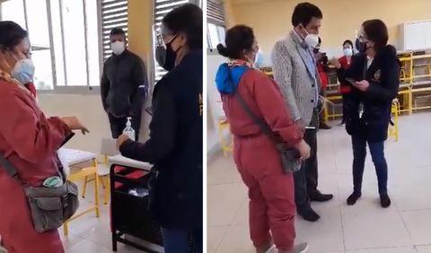 Detienen a personera de Perú Libre por marcar 256 cédulas