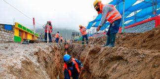 Transfieren más de 3 millones de soles para obras de saneamiento en La Unión