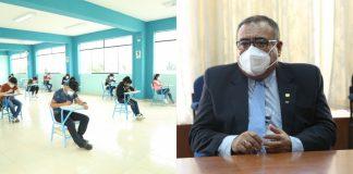 Rector de la UNP garantiza absoluta transparencia en el próximo examen de admisión
