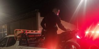 Recuperan motocicleta robada que iba a ser utilizada para actos delictivos