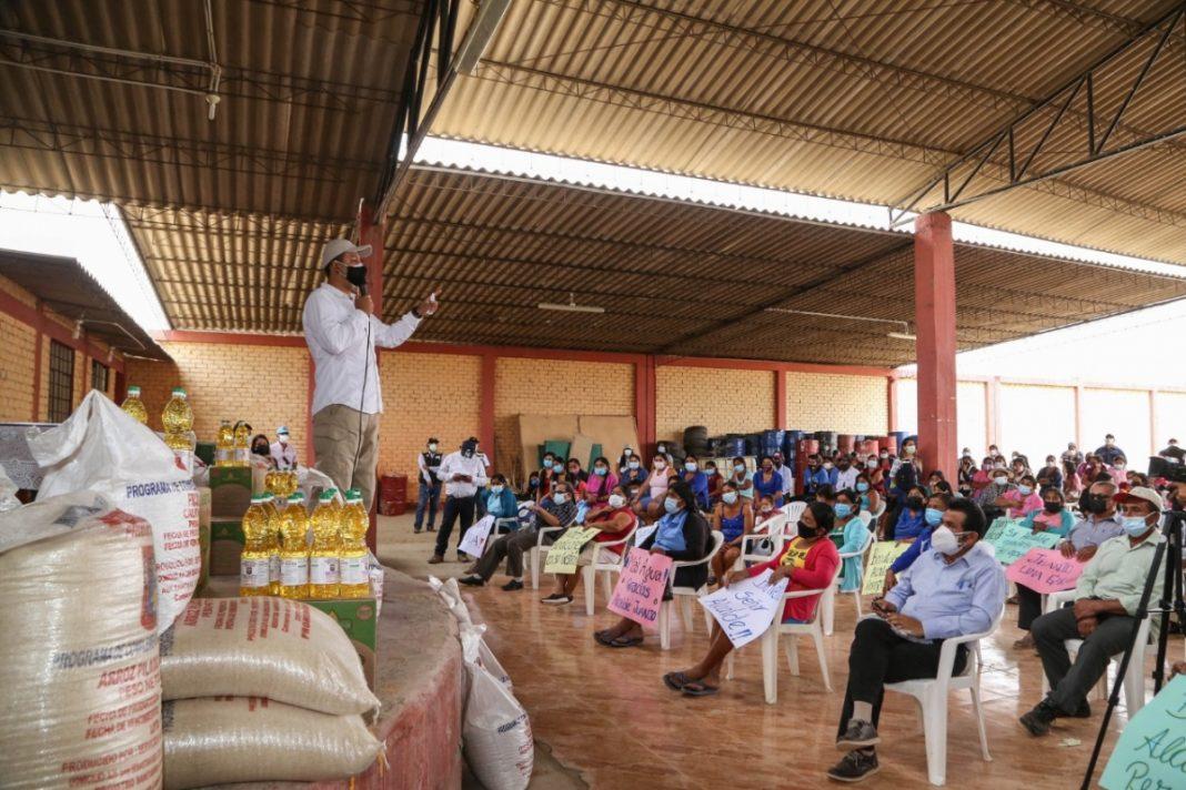 Articulan esfuerzos para atender necesidades de la población de Tambogrande