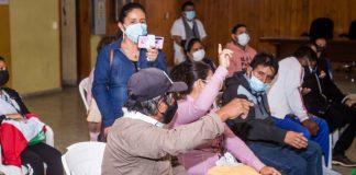 Alcalde se reúne con dirigentes vecinales por falta de luz en sectores de Paita