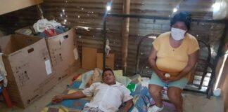 Padre de familia necesita ayuda para poder operarse y volver a caminar