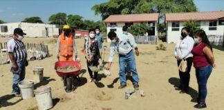 Inician trabajos de construcción de colegio secundario del centro poblado La Rita