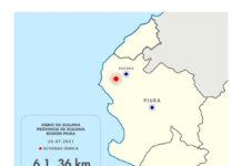 Sismo sacudió con intensidad a Sullana porque epicentro se ubicó a solo 36 km de profundidad