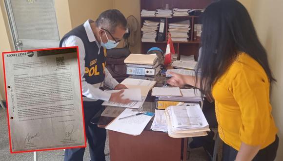 Investigan pago de más de S/ 1 millón con presunta carta fianza falsa en comuna de La Unión