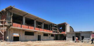 Construcción de la I.E. San Fernando de Olivares presenta un 72% de avance