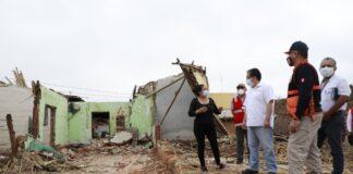 Piden acelerar plan de reconstrucción para atender a damnificados de sismo en Piura